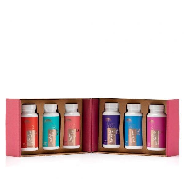 KIT 6 - Kit complet cu vitamine și minerale pentru întinerire, stimularea fertilității și întârzierea instalarii menopauzei