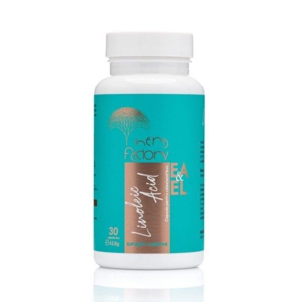 Linolei Acid - capsula pentru colesterol bun cutie